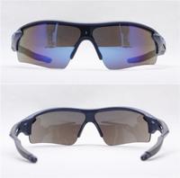 2PCS\LOT 3130R-BLUE Unisex Fashion Sport Cycling Glasses Fashion Driving Mirror sunglasses Free Shipping