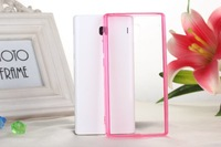 High quality Acrylic+ TPU xiaomi red rice case with different colors available for redmi note Free shipping