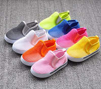 free shipping candy colors baby shoes casual sandals first walkers hollow hole breathable mesh summer toddler shoes