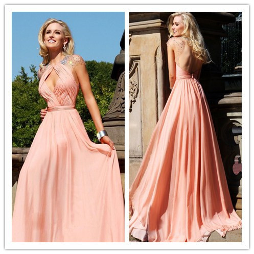 Best evening dress for large breasts