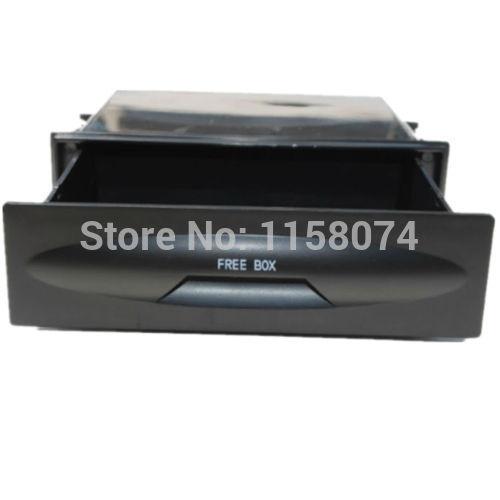 Universal Car auto Single Din Dash Radio Installation Pocket Kit Storage Box(China (Mainland))