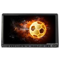 Kingseong double din Autoradio car dvd player gps Sat Nav 3g PIP bluetooth Aux in SWC Free 4GB Map card KS728W