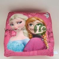 2014 high quality cushion cover throw pillow cover New Creative Cute frozen princess Elsa and Anna Pillows pattern pillow case