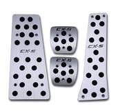 Gas pedal break pedal accelerator pedal manual auto accessories Fit for Mazda CX-5 CX5 2012-2013 4pcs per set