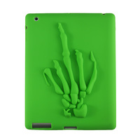 2014 New 4 Color Tablet PC Case&Cover  Kid's Light Weight Silicone Shockproof Soft Game Handle Carry Case for Apple iPad 2/3/4