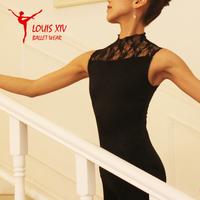 Louis xiv ballet leotard coverall lace sleeveless turtleneck 2014