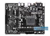 PC mainboard For Asrock / ASRock FM2A75M-HD + all solid motherboard Socket FM2 + AMD A75 motherboard