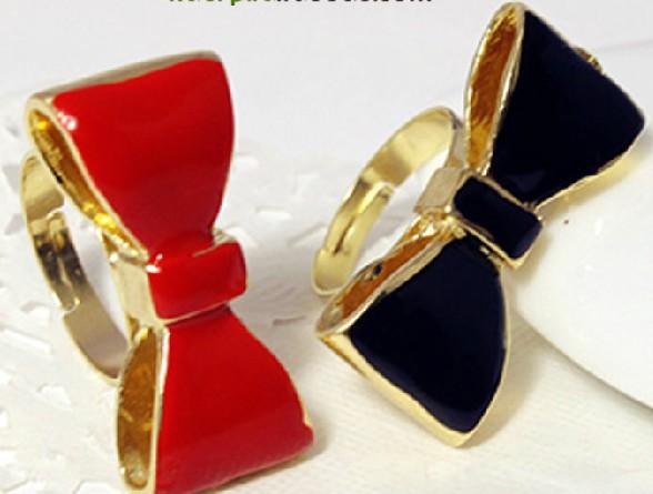 f1115 женщин кольцо девушка красные Черная