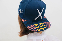 2014 new casual X letters embroidered geometric patterns of men and women hip-hop baseball cap flat along Spring ,Free Shipping
