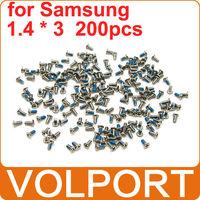 200pcs 100% Original Brand New Repair Replacement Parts 1.4 x 3 Cross Screws for Samsung Galaxy S4 S3 I9300 I9500 I699