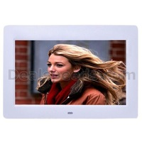 High Definition Ultrathin 10 inch Digital Picture Frame Multifunction TFT LED Screen(White)