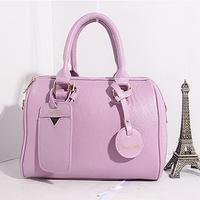 New 2014 fashion original calfskin leather trunk totes women messenger bags handbags shoulder bag