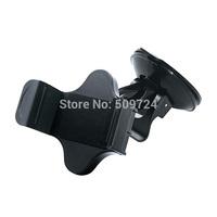 2014 Promotion Real Black Universal Adjustable Car Holder,large Suction Holder Stand for Mobile Phone, with Rubber Oil Holder.