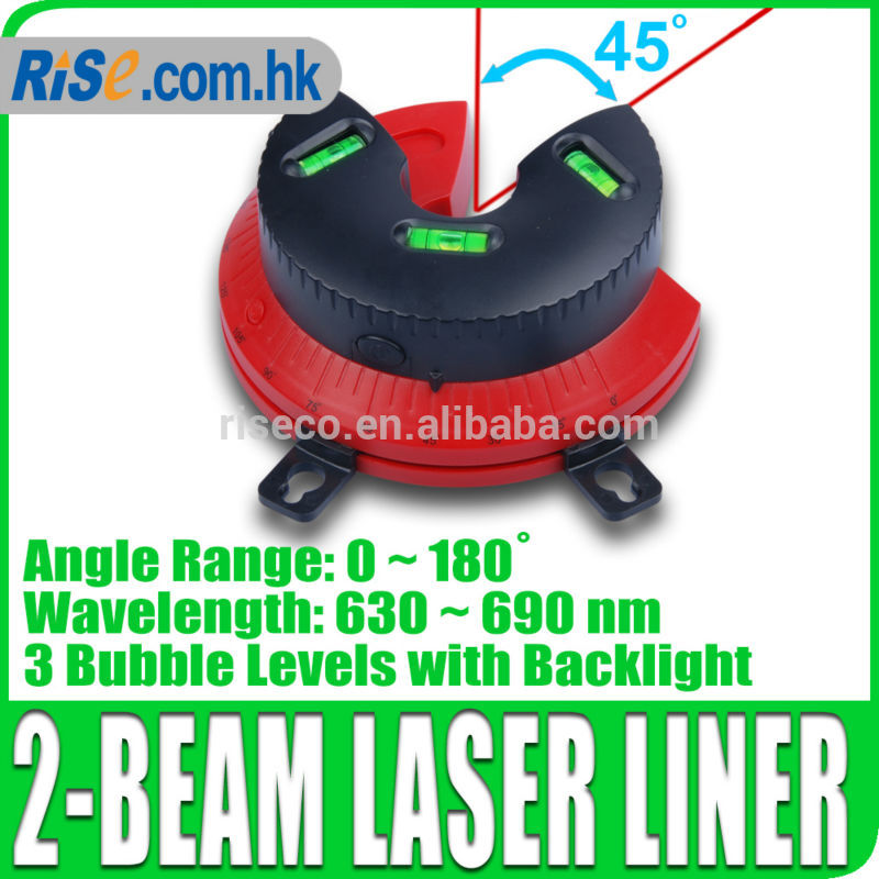 Laser Beam Marker Liner Spirit Level Plumb Tool 0~180 degree(Hong Kong)