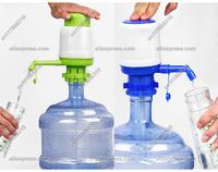 New Drinking Water Hand Press Pump Manual Tap Spigot 5-6 Gallon Bottle Dispenser Office School Home Party Indoor Outdoor Camping