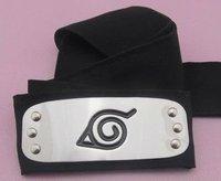 Naruto Headband Leaf Village Logo Konoha Kakashi Tobi Obito Free shipping