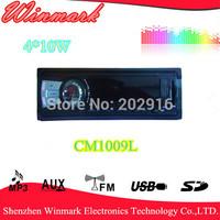 car mp3 car audio with USB/SD/FM/AUX  4*10W CM1009L