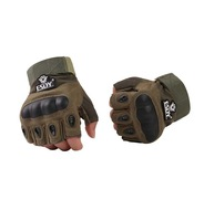 NEW Military Tactical Airsoft Outdoor Half- Finger Hunting Sports Protective Gloves