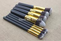 Wholesale Professional Makeup Brush Sets 8pcs/set Cosmetic Synthetic Hair Brush Set Wholesale High Quality FREE SHIP