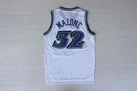 Promotion the USA Utah men throwback camisetas sportswear embroidery mesh basketball jerseys custom #32 Karl Malone
