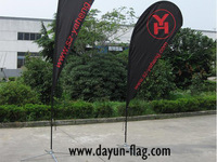 Outdoor Promotion Beach Flag (BF03) 5.6 Meters Height Teardrop Shape