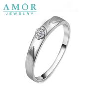 AMOR  LOVE MY  LOVE SERIES NATURAL DIAMOND PT950  LOVERS RING JBFZSJZ007