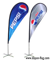 Polyester  Outdoor Beach Flag (BF03) 3.4 Meters Height