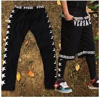 2014 Men hip hop legging Punk rock Casual Fashion Sportswear Outdoor Street dance lover for women and men BF-23