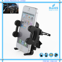 Universal car air vent mobile phone holder