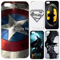 For iPhone Case Superman Batman Bat Man Captain American Case Cover for Iphone5 For Iphone5s for Iphone 5 5G 5S