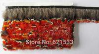 Pheasant Feathers 10 Yards Red Lady Amherst Pheasant Feather Trim Fringe freeshipping