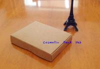 12.3*9*1.8CM,Kraft Paper Box for Lemo Message Card Box Gift Tea Jewel Packaging Box