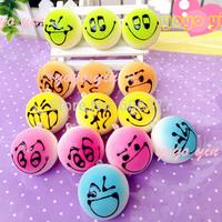 40pcs/lot Mini Candy Colors DIY Cute Face Bread Bun Squishy Charm Free Shipping
