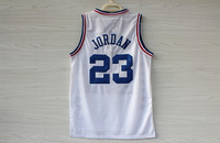 Free Shipping Chicago # 23 Michael Jordan  White 2003 Star Game Mesh Basketball Jersey Cheap Basketball Jersey S-XXL