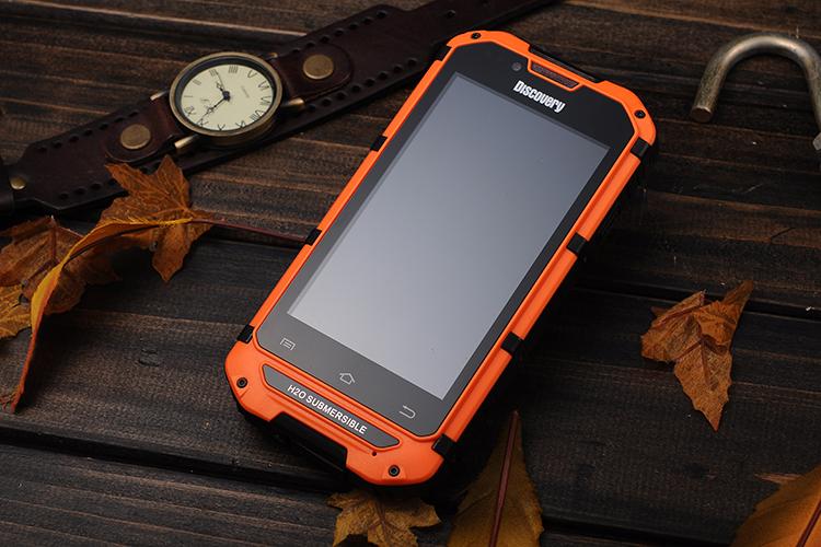 Discovery V6 phone 512MB RAM 4GB ROM Android phone waterproof shockproof dustproof GSM CDMA telephone dual core dual sim mobile(China (Mainland))