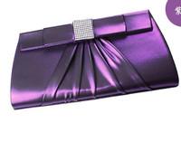 NEW arrive 2014 clutch purse luxury elegant diamante evening bags chain bag cosmetic Bag