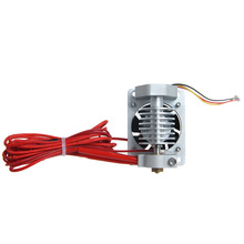 All Metal JIETAI short-distance j-head V2.0 0.35mm nozzle with cable , with cooling fan