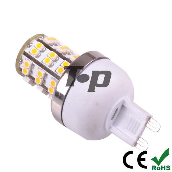 Free Shipping 6 pcs/lot LED G9 3W 220V 230V 240V 3528 SMD LED G9 Mini Corn Light spotlight LED Lamps bulb light