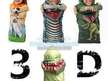 Free shipping 1pcs retail Dinosaur / dog / crocodile 3D kids hoodies boys&girls children's hoodies kids outerwear(China (Mainland))