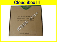Cloud Ibox III twin tuner Satellite Receiver Cloud ibox 3 OpenPLi Linux OS Support wifi IPTV Web TV youtube Free Shipping