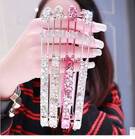 Fashion Luxury Bling Crystal Diamond Metal Frame Case Cover For iPhone 5 5G 5S Drop Free Shipping
