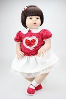 28 inches Finished vinyl Reborn Baby doll reborn Toddler Girl doll ARIANNA handmade lifelike fashionable kids birthday gift