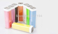 Power Bank 2600mah Lipstick External Backup Battery Charger Portable For Iphone 5 5S 4 4S For Samsung For mp3