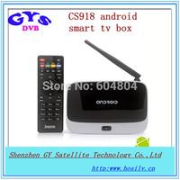 Quad core IPTV box CS918 android 4.2 system RK3188 CS918 iptv box CS918 quad core android smart iptv box for global use