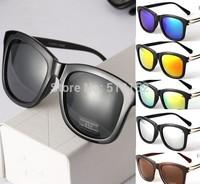 Women's Retro Round Eyeglasses Spectacles 8 Colors Sunglasses coating sunglass vintage designer sunglasses 0204