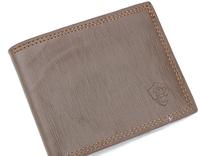 High-end business man purse 2014 Male Genuine Leather Casual Short Design Wallet Card holder pocket Fashion Purse for men