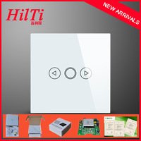China Hilti EU Type Tempered Glass 1Gang Light Dimmer Switch,Waterproof&Fireproof ,Imported IC,Overload&Overheat Protections,CE