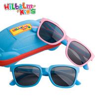 Super soft silica gel boy baby sunglasses polarized sunglasses girl sunglasses