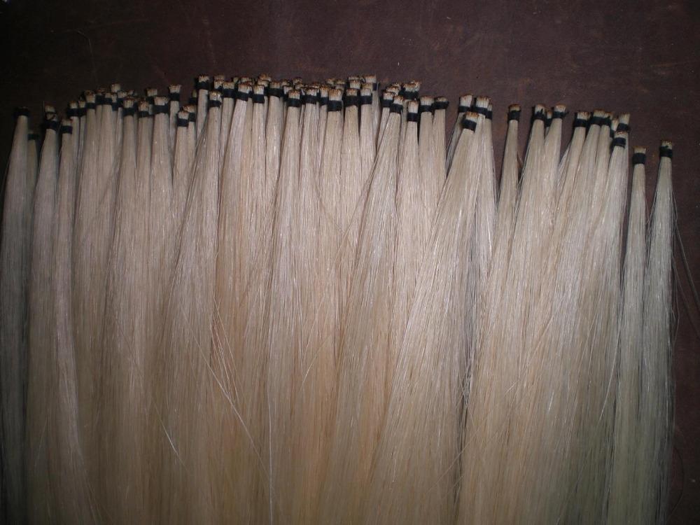 30 Hanks Violin Bow hair including 15 hank white bow hair 15 hank black bow hair