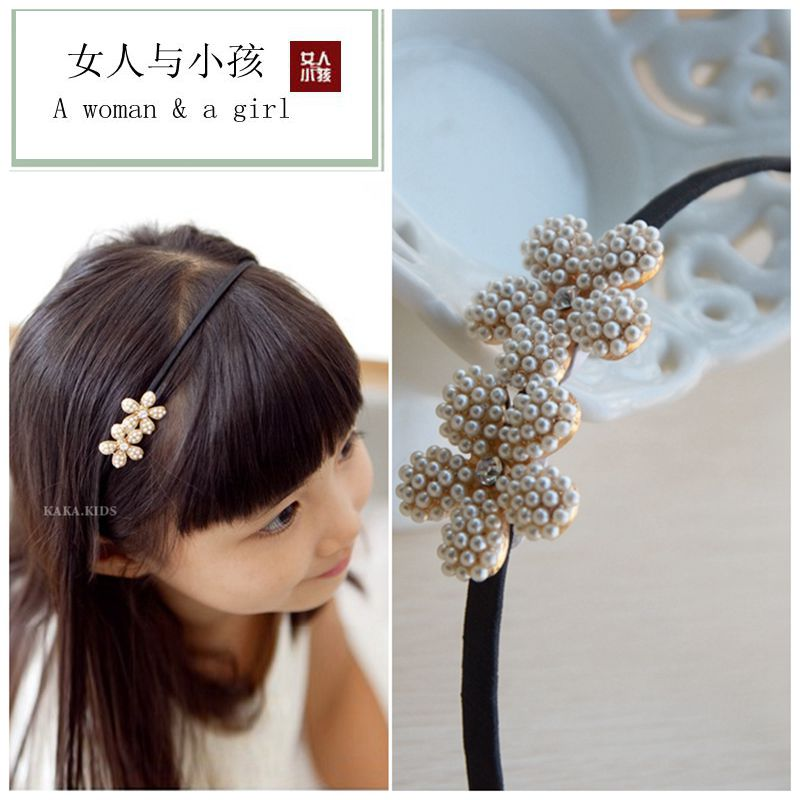 Free Shipping Child Accessories Headband Hair Bands Hair Accessories Children Christmas Ornament Girl's Party Hair Accessories(China (Mainland))